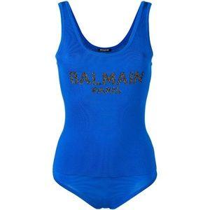 BALMAIN Logo Body Suit